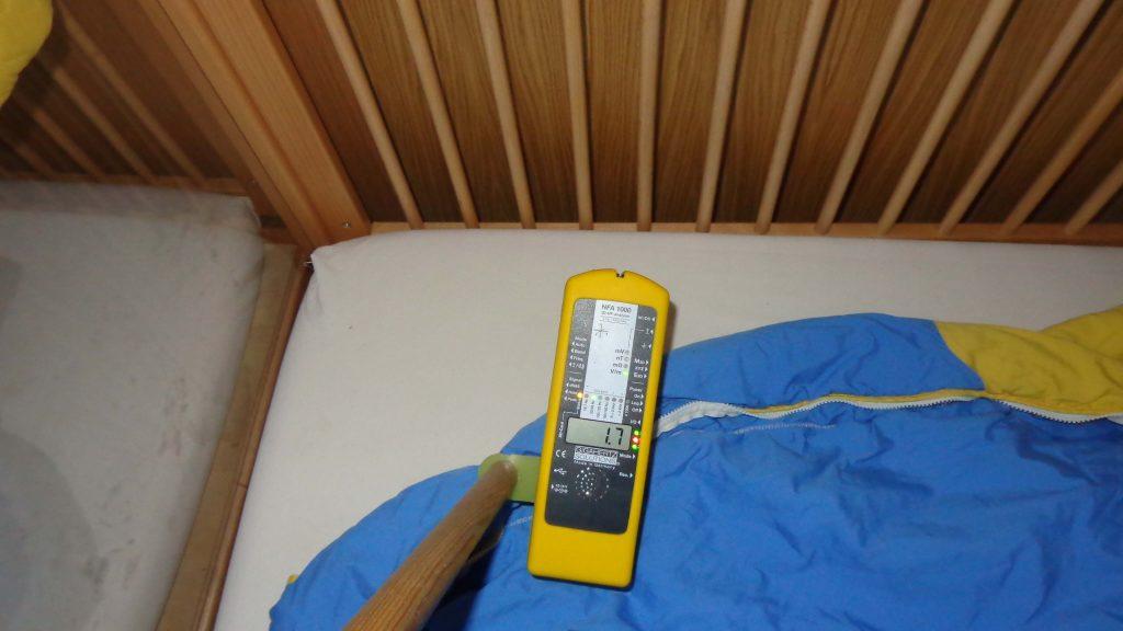 mesure des ondes dans une crèche