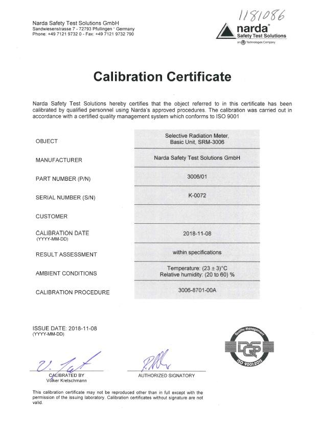 certification COFRAC