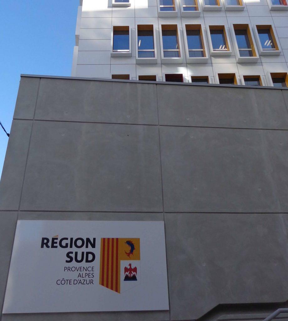 Bâtiment Conseil régional PACA